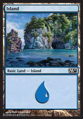 Island (234), Magic 2011 Core Set, Magic the Gathering
