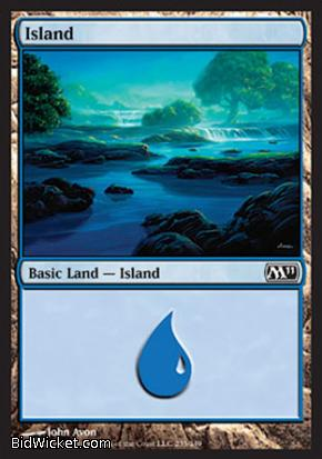 Island (235), Magic 2011 Core Set, Magic the Gathering
