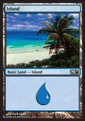 Island (236), Magic 2011 Core Set, Magic the Gathering