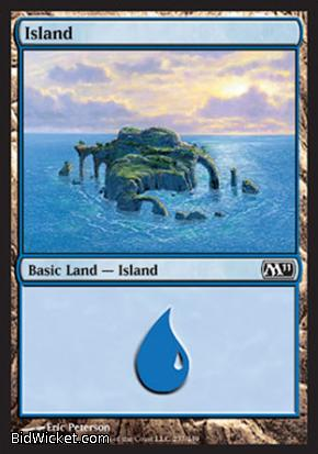 Island (237), Magic 2011 Core Set, Magic the Gathering
