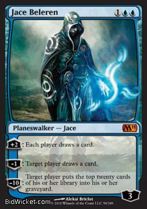 Jace Beleren, Magic 2011 Core Set, Magic the Gathering
