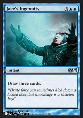 Jace's Ingenuity, Magic 2011 Core Set, Magic the Gathering