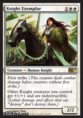 Knight Exemplar, Magic 2011 Core Set, Magic the Gathering