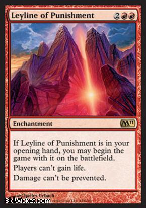 Leyline of Punishment, Magic 2011 Core Set, Magic the Gathering