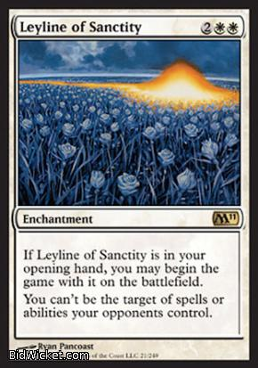 Leyline of Sanctity, Magic 2011 Core Set, Magic the Gathering