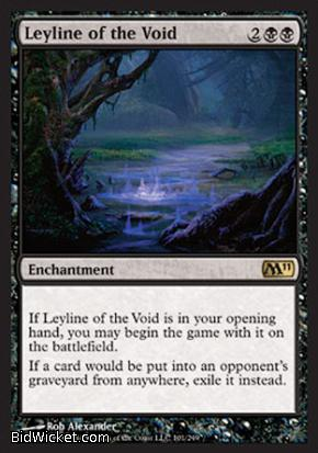Leyline of the Void, Magic 2011 Core Set, Magic the Gathering