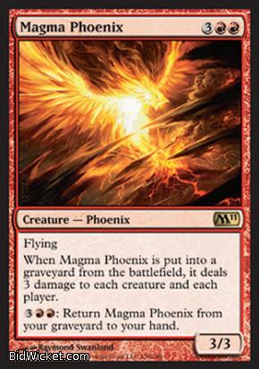 Magma Phoenix, Magic 2011 Core Set, Magic the Gathering