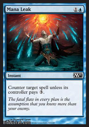 Mana Leak, Magic 2011 Core Set, Magic the Gathering