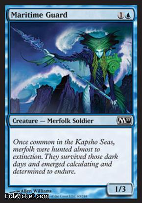 Maritime Guard, Magic 2011 Core Set, Magic the Gathering