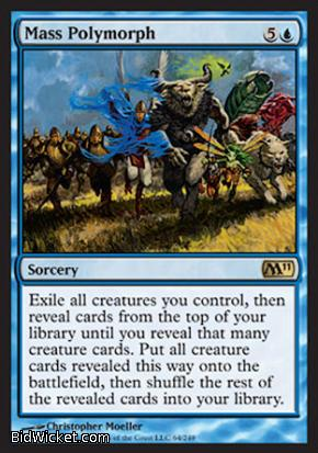 Mass Polymorph, Magic 2011 Core Set, Magic the Gathering