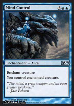 Mind Control, Magic 2011 Core Set, Magic the Gathering