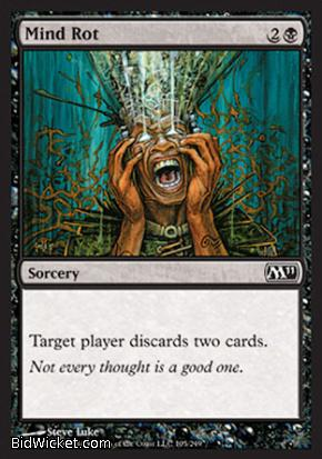 Mind Rot, Magic 2011 Core Set, Magic the Gathering