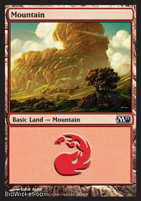 Mountain (243), Magic 2011 Core Set, Magic the Gathering