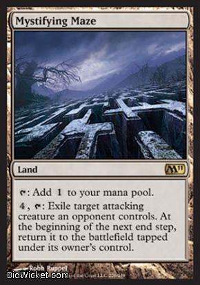 Mystifying Maze, Magic 2011 Core Set, Magic the Gathering