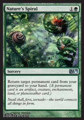 Nature's Spiral, Magic 2011 Core Set, Magic the Gathering