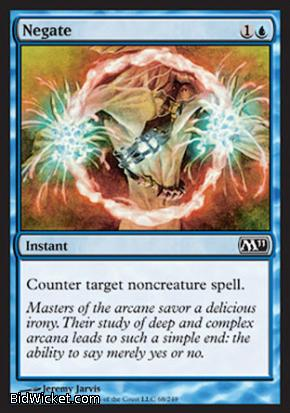 Negate, Magic 2011 Core Set, Magic the Gathering