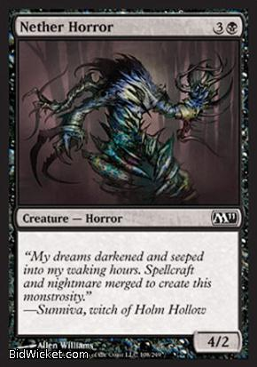 Nether Horror, Magic 2011 Core Set, Magic the Gathering