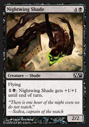 Nightwing Shade, Magic 2011 Core Set, Magic the Gathering