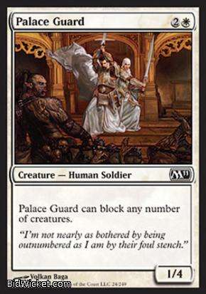 Palace Guard, Magic 2011 Core Set, Magic the Gathering