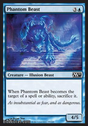 Phantom Beast, Magic 2011 Core Set, Magic the Gathering