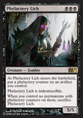 Phylactery Lich, Magic 2011 Core Set, Magic the Gathering