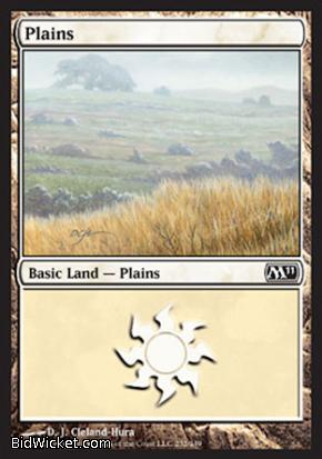 Plains (232), Magic 2011 Core Set, Magic the Gathering
