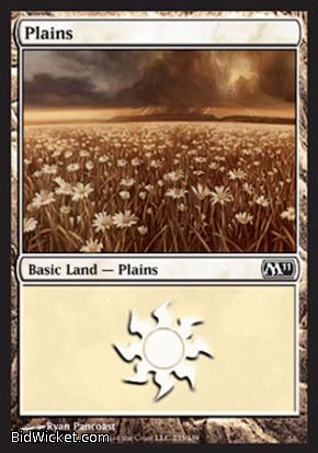 Plains (233), Magic 2011 Core Set, Magic the Gathering