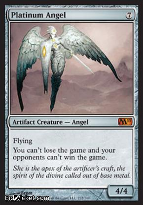 Platinum Angel, Magic 2011 Core Set, Magic the Gathering