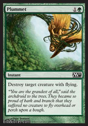 Plummet, Magic 2011 Core Set, Magic the Gathering
