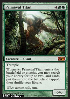 Primeval Titan, Magic 2011 Core Set, Magic the Gathering