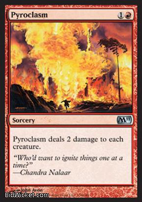 Pyroclasm, Magic 2011 Core Set, Magic the Gathering