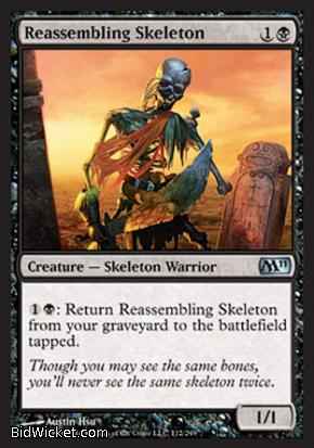 Reassembling Skeleton, Magic 2011 Core Set, Magic the Gathering