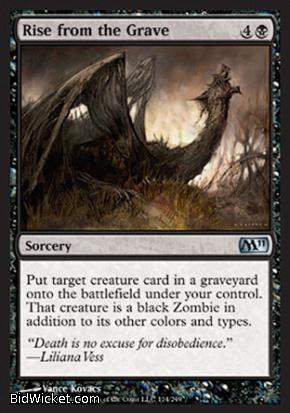 Rise from the Grave, Magic 2011 Core Set, Magic the Gathering