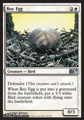 Roc Egg, Magic 2011 Core Set, Magic the Gathering