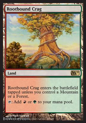 Rootbound Crag, Magic 2011 Core Set, Magic the Gathering