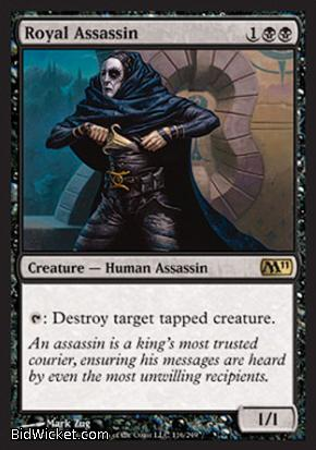 Royal Assassin, Magic 2011 Core Set, Magic the Gathering