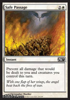Safe Passage, Magic 2011 Core Set, Magic the Gathering