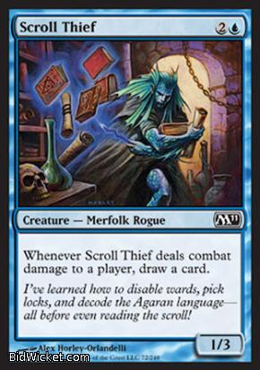 Scroll Thief, Magic 2011 Core Set, Magic the Gathering