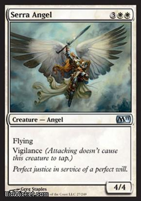 Serra Angel, Magic 2011 Core Set, Magic the Gathering