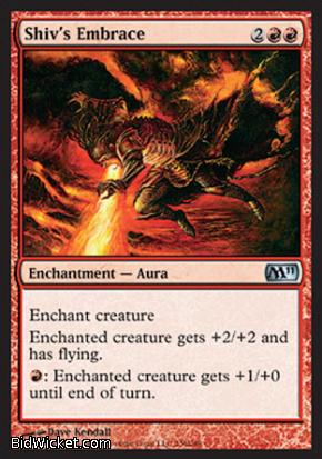 Shiv's Embrace, Magic 2011 Core Set, Magic the Gathering