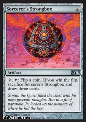 Sorcerer's Strongbox, Magic 2011 Core Set, Magic the Gathering