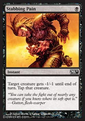 Stabbing Pain, Magic 2011 Core Set, Magic the Gathering