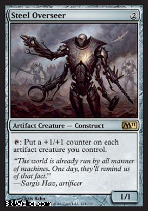Steel Overseer, Magic 2011 Core Set, Magic the Gathering