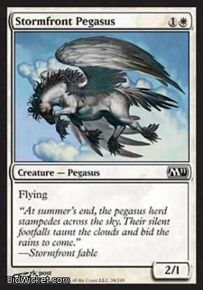 Stormfront Pegasus, Magic 2011 Core Set, Magic the Gathering