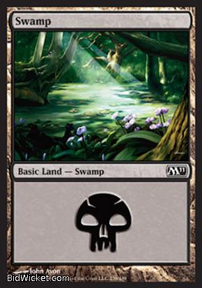 Swamp (238), Magic 2011 Core Set, Magic the Gathering
