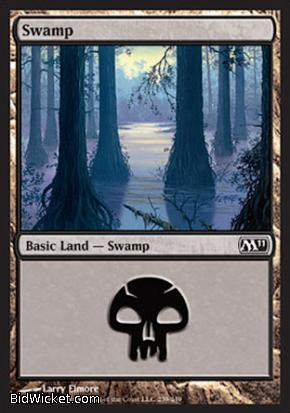 Swamp (239), Magic 2011 Core Set, Magic the Gathering