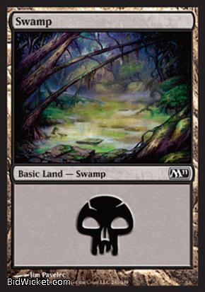 Swamp (241), Magic 2011 Core Set, Magic the Gathering