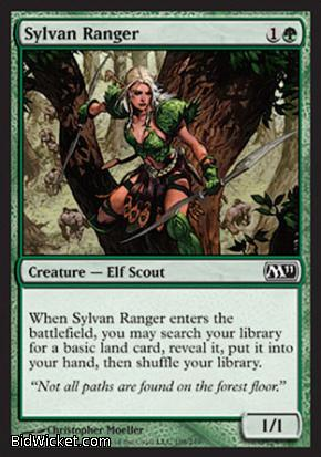 Sylvan Ranger, Magic 2011 Core Set, Magic the Gathering