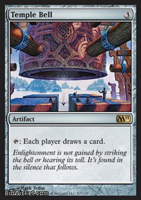 Temple Bell, Magic 2011 Core Set, Magic the Gathering