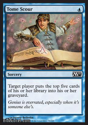 Tome Scour, Magic 2011 Core Set, Magic the Gathering